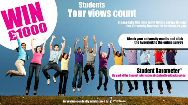 Student Barometer banner