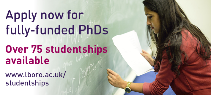 Apply now for fully-funded PhDs