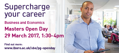 SBE Masters Open Day 29th March