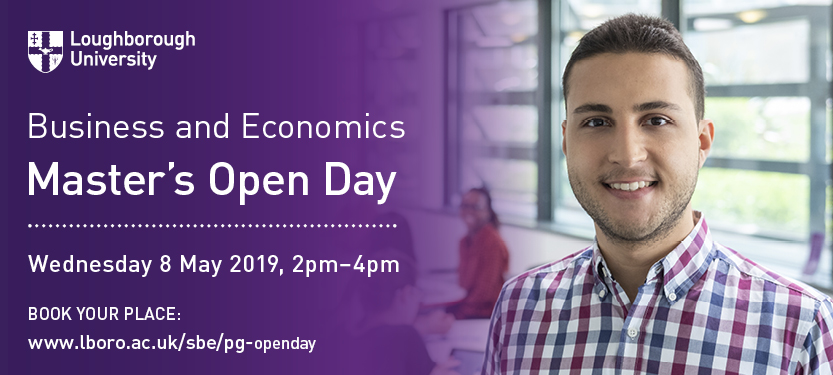 SBE Masters Open Day - Wed 8th May 2019