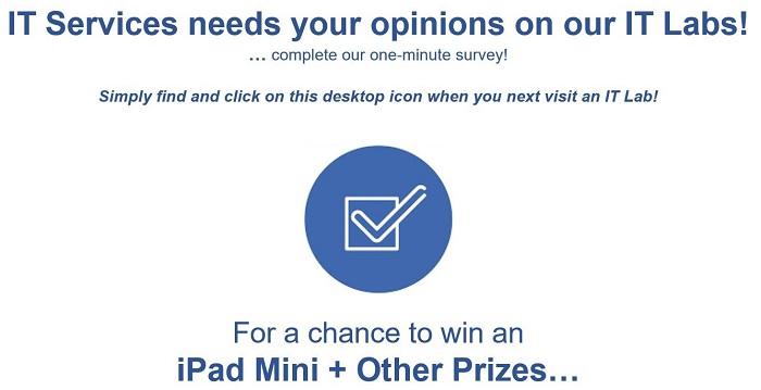 Lab survey advert
