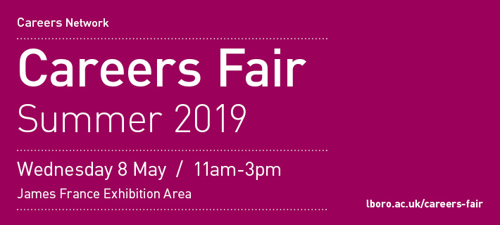 Summer careers fair 2019