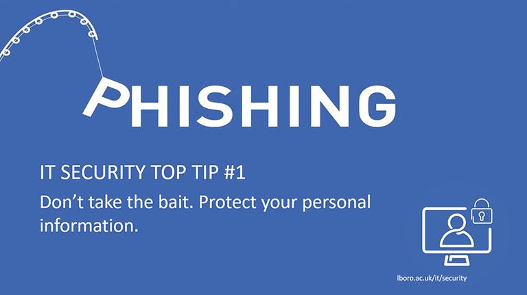 IT Security Top Tip #1 - Phishing