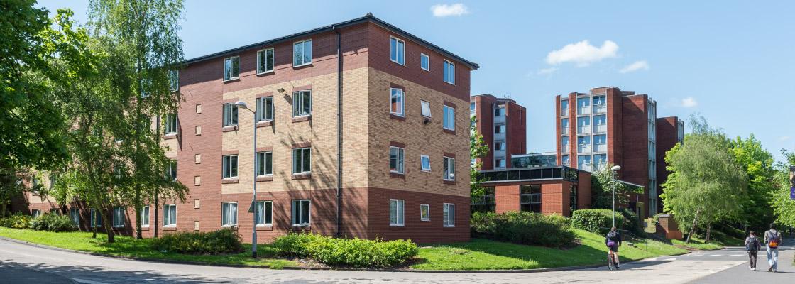 Photograph of University accommodation