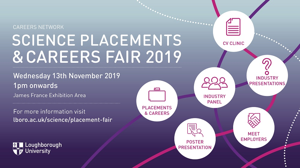 Science Placements and Careers Fair 2019
