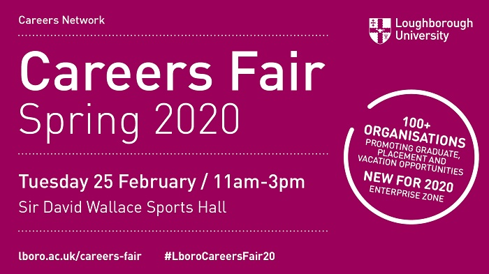 Spring Careers Fair 2020
