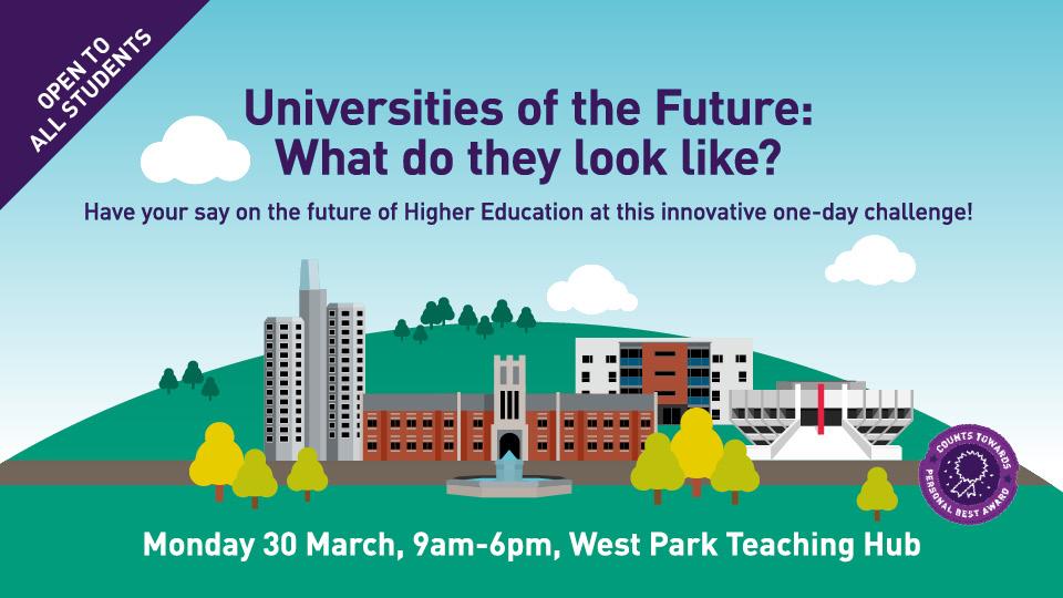 Universities of the Future advert