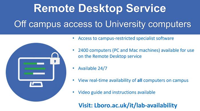Remote desktop poster