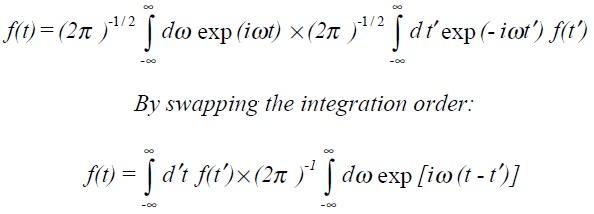 Maths: Properties of the Dirac delta-function